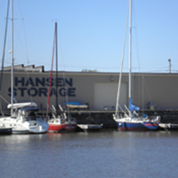 Hansen Marina is located at the mouth of Lake Michigan just west of the Hoan Bridge. No waiting for bridges!